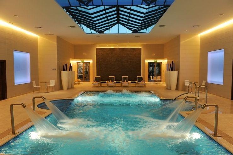 Pool Elektra Lighting Design Galerías y espacios comerciales de estilo asiático