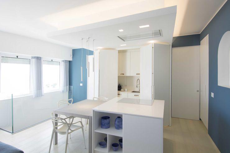 Villa Andora Architetto ANTONIO ZARDONI Cucina moderna