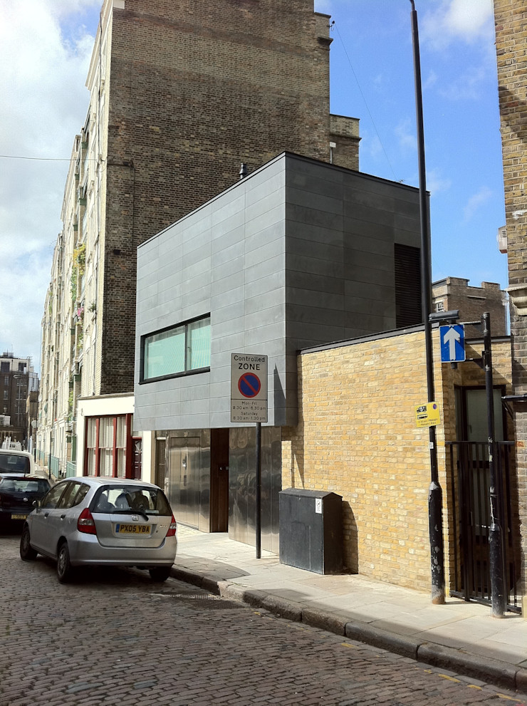 Kings Cross Exterior LLI Design Modern Houses