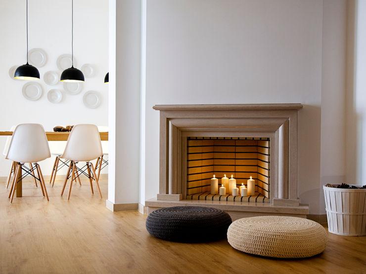 Living room floor Staging Factory Paredes e pisos modernos