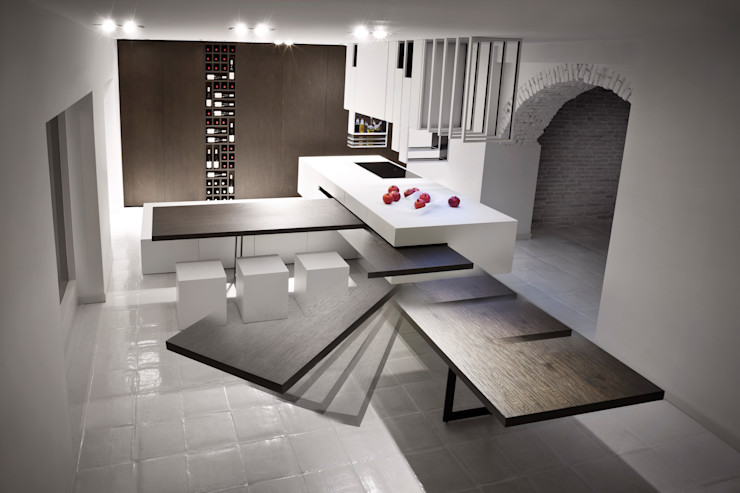 The Cut Kitchen Alessandro Isola Ltd KitchenBench tops