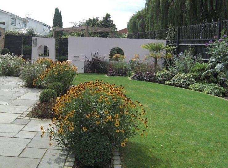 Contemporary Garden Design, Windsor, Berkshire Linsey Evans Garden Design Modern garden