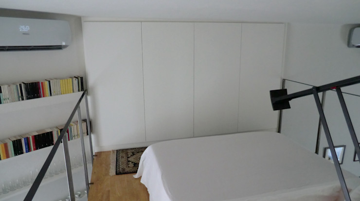 Arch. Silvana Citterio Industrial style bedroom