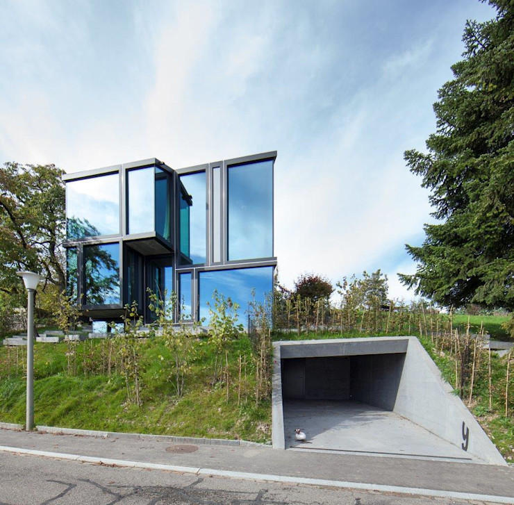 L3P Architekten ETH FH SIA AG Modern home