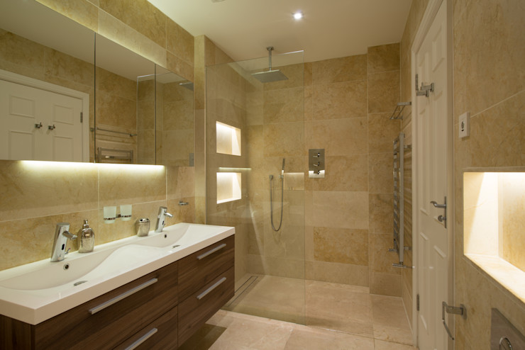 En-Suite DDWH Architects Modern bathroom