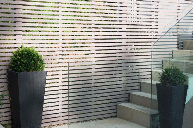 Garden fence DDWH Architects Modern garden
