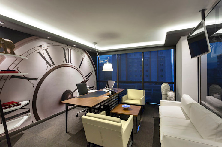 OFİS 24 ANTALYA Mimoza Mimarlık Ofis Alanları