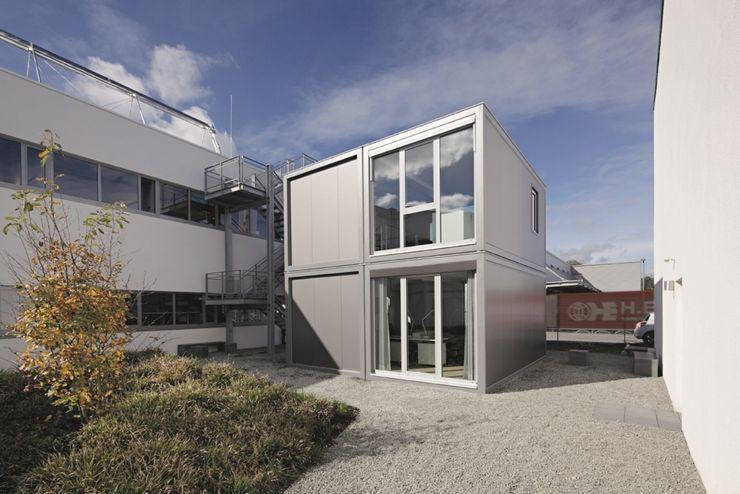 addhome by KRAMER GmbH Edificios de oficinas de estilo moderno