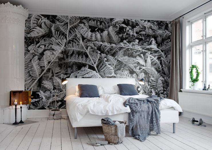 Frost Leaf homify Scandinavian style walls & floors
