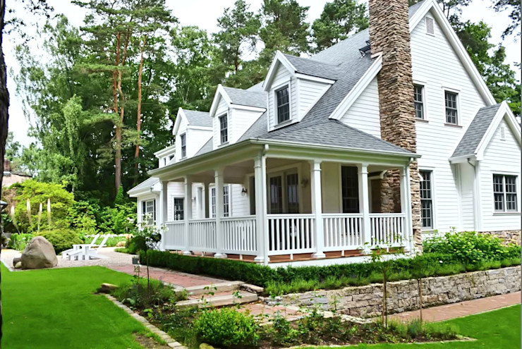THE WHITE HOUSE american dream homes gmbh Country style houses