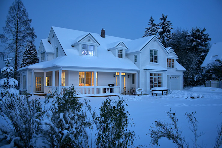 THE WHITE HOUSE american dream homes gmbh Country style house