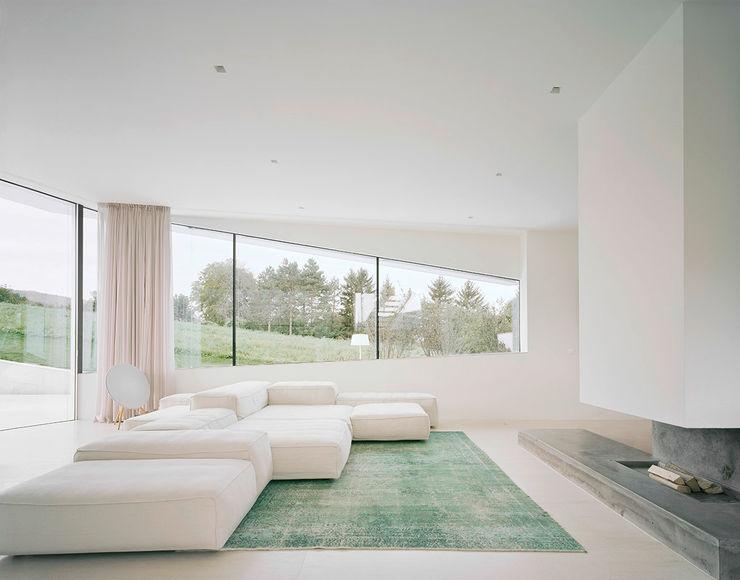 project a01 architects, ZT Gmbh Salas de estilo moderno