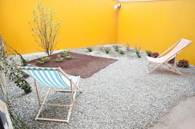 TRA - architettura condivisa Industrial style garden