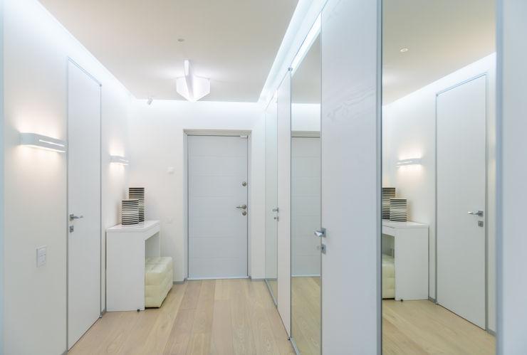 ANNA SHEMURATOVA \ interior design الممر والمدخل