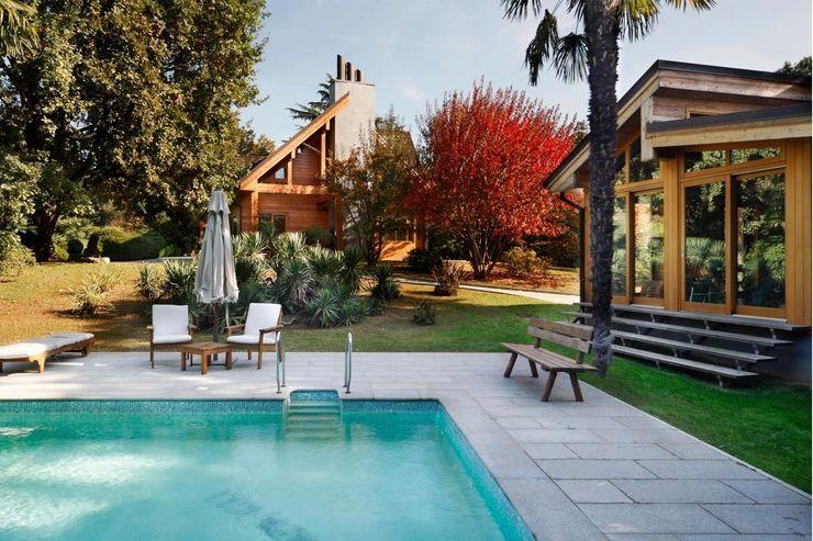 alberico & giachetti architetti associati Casas de estilo moderno