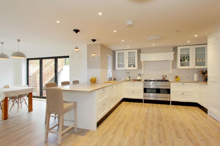 Wickham House C7 architects 現代廚房設計點子、靈感&圖片