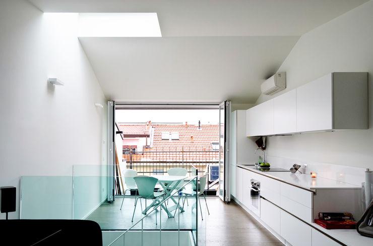 Piano Alto - Soggiorno Openspace (continuità con terrazza esterna) PLANAIR ® Soggiorno minimalista