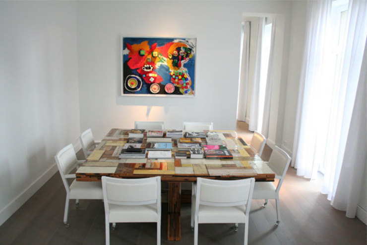 By Lenny Modern dining room