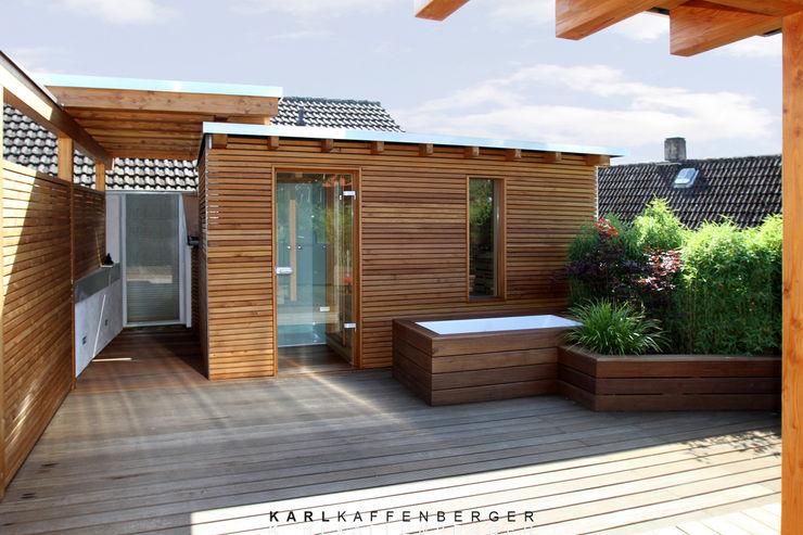 Karl Kaffenberger Architektur | Einrichtung Balcone, Veranda & Terrazza in stile scandinavo