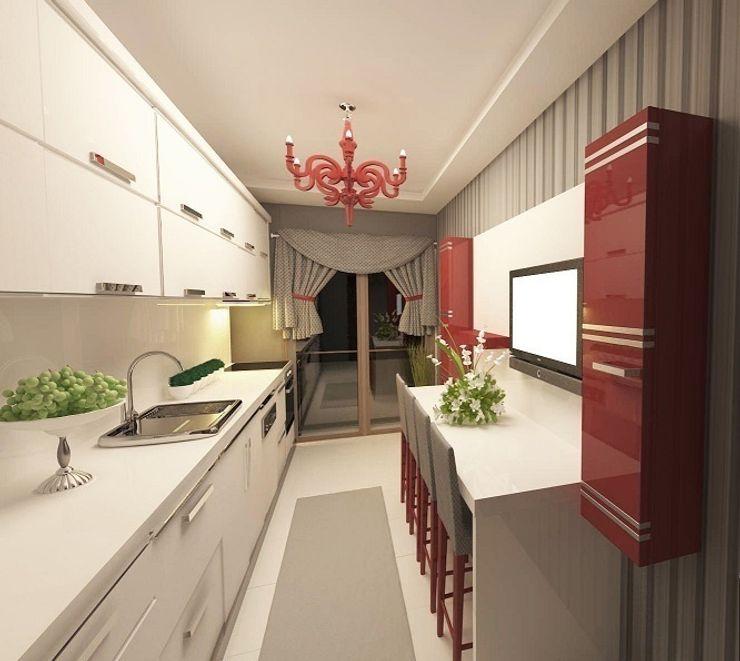 Meral Akçay Konsept ve Mimarlık Modern Kitchen