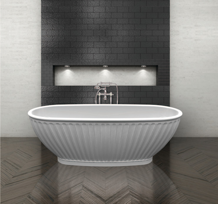 The Casini Bath BC Designs BañosBañeras y duchas