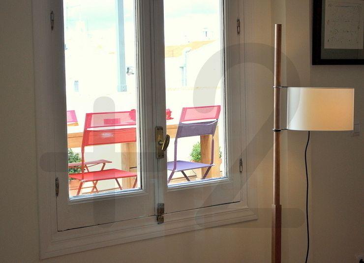 #áticoJERÓNIMOS +2 Balcones y terrazas de estilo moderno