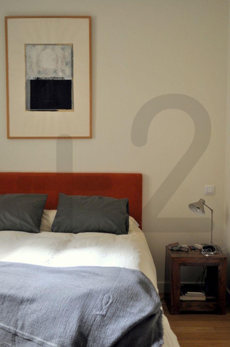 #áticoJERÓNIMOS +2 Dormitorios de estilo moderno