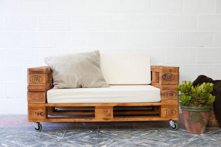 ALMANZOR sofá palets. 120x80cm ECOdECO Mobiliario JardínMobiliario