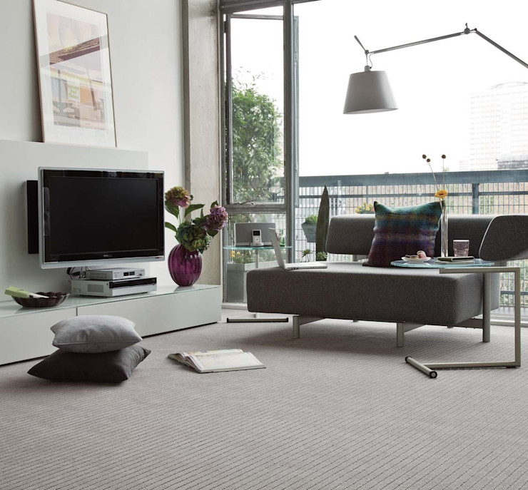 Flock carpets made in 100% Laneve, a premium wool sourced from Wools of New Zealand Flock Living Paredes y suelosAlfombras