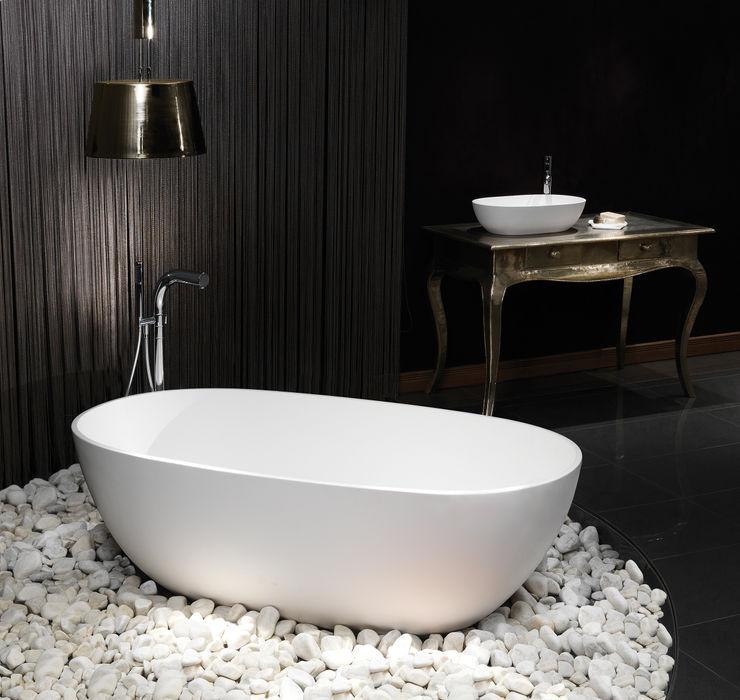 Cloud Stone Bath Waters Baths of Ashbourne BathroomBathtubs & showers