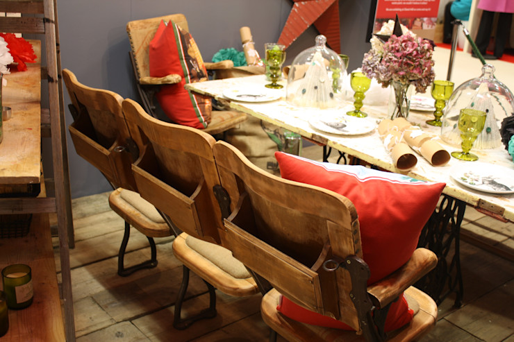 Upcycled Dining Room Design Little Mill House Comedores eclécticos