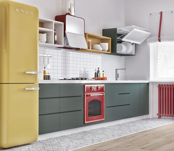 ILKIN GURBANOV Studio Modern Kitchen