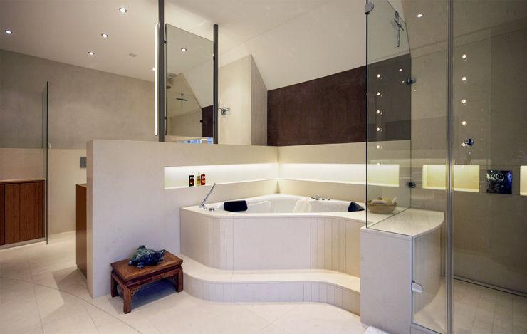 Dielen Innenarchitekten Mediterranean style bathrooms