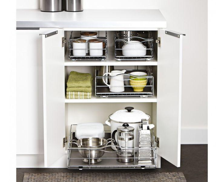 50.2cm pull-out organiser simplehuman KitchenStorage
