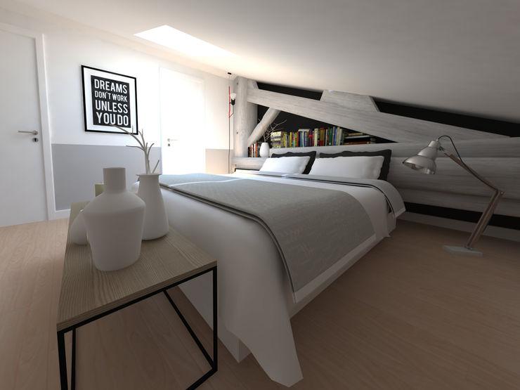 Réaménagement d'une chambre La Fable Chambre minimaliste