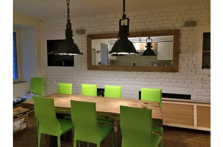 +1 Progetto Interni +1 PROGETTO INTERNI Sala da pranzo eclettica