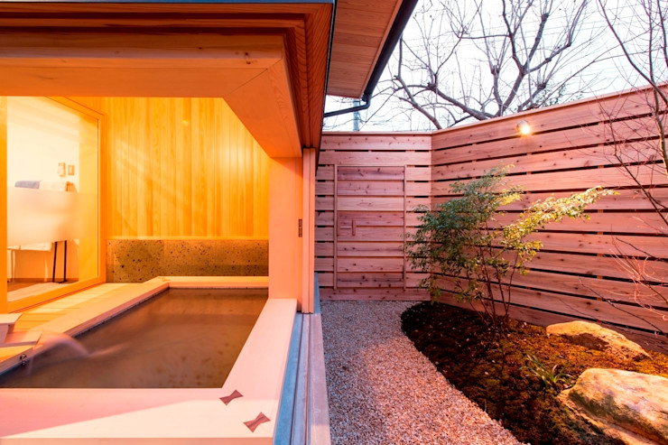 AMI ENVIRONMENT DESIGN/アミ環境デザイン Baños de estilo asiático