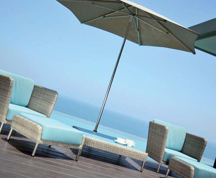 Fiji Lounge Sessel + Lounge Tisch KwiK Designmöbel GmbH GartenMöbel