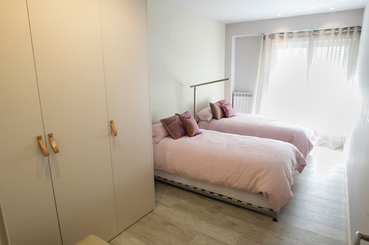R-decora - Obras, Reformas y Decoración غرفة نوم
