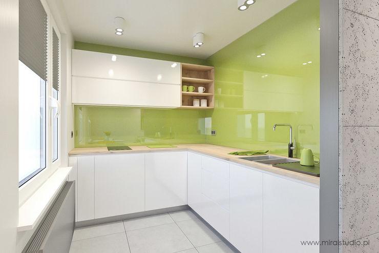 MIRAI STUDIO Cocinas de estilo moderno
