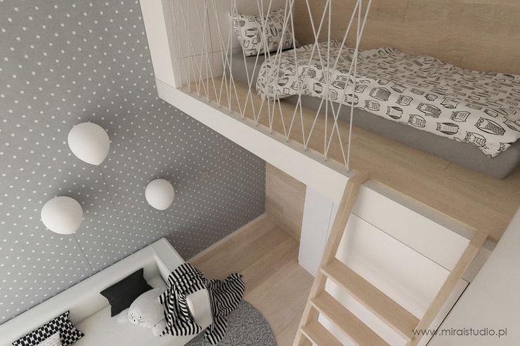 MIRAI STUDIO Dormitorios infantiles de estilo escandinavo