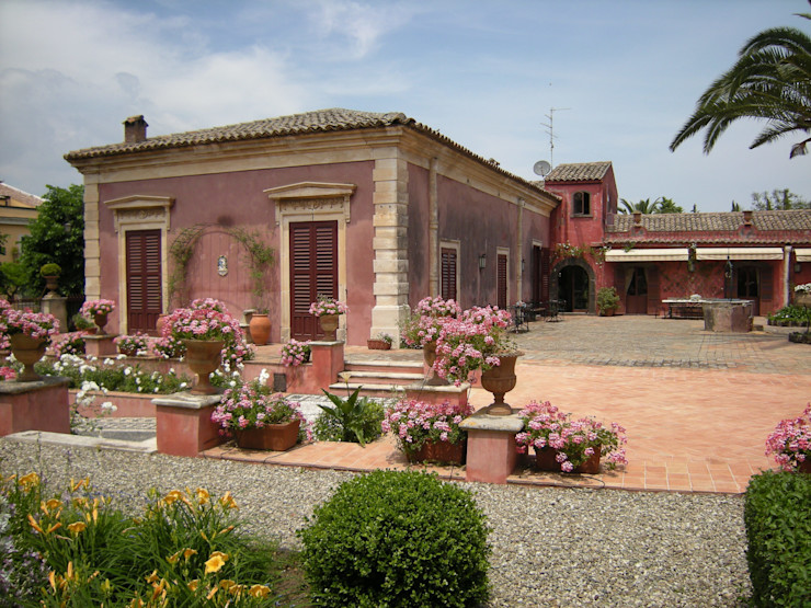 SciaraNiura landscape architecture studio Taman Gaya Mediteran