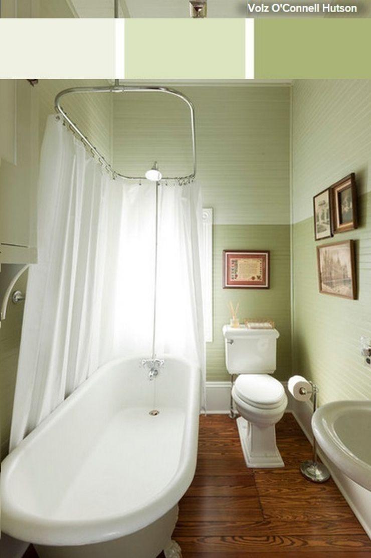 La brujula Feng Shui Minimalist bathroom