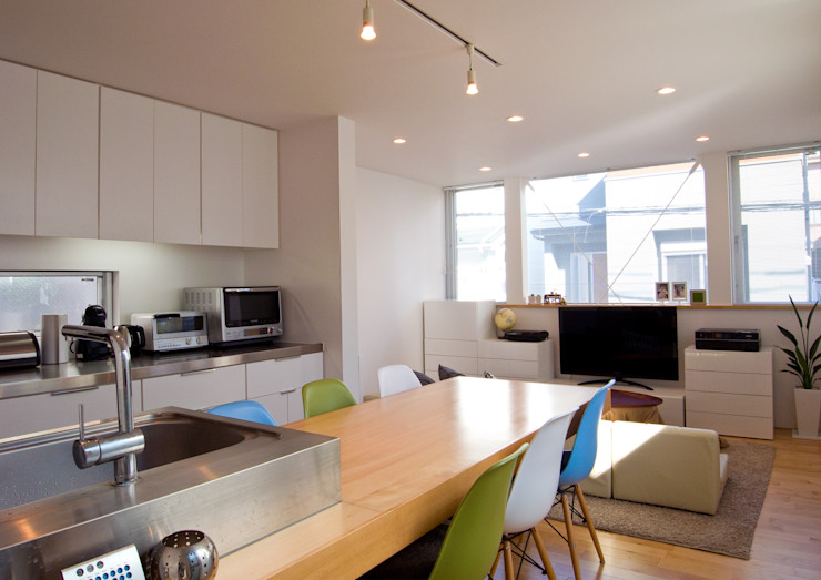 Studio R1 Architects Office Eclectic style dining room