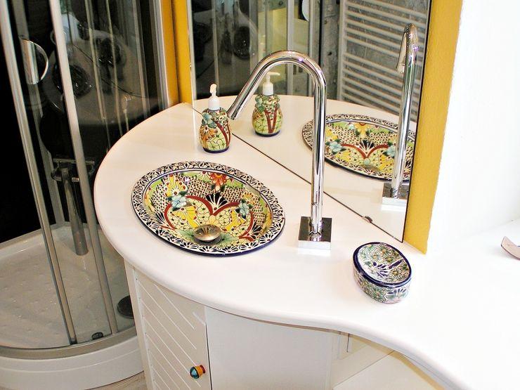 Mexambiente e.K. BathroomSinks Ceramic Multicolored