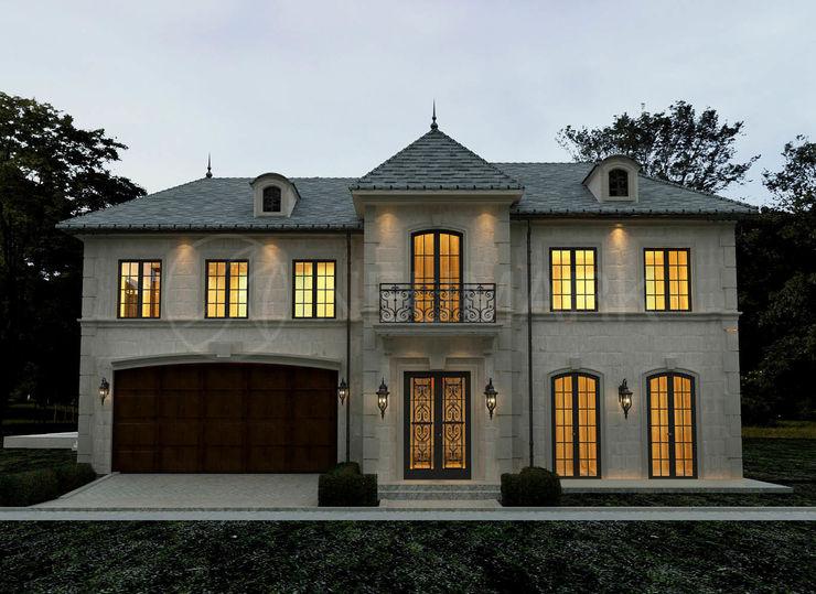 Ferrari Drive Residence, LA, USA homify Дома в средиземноморском стиле