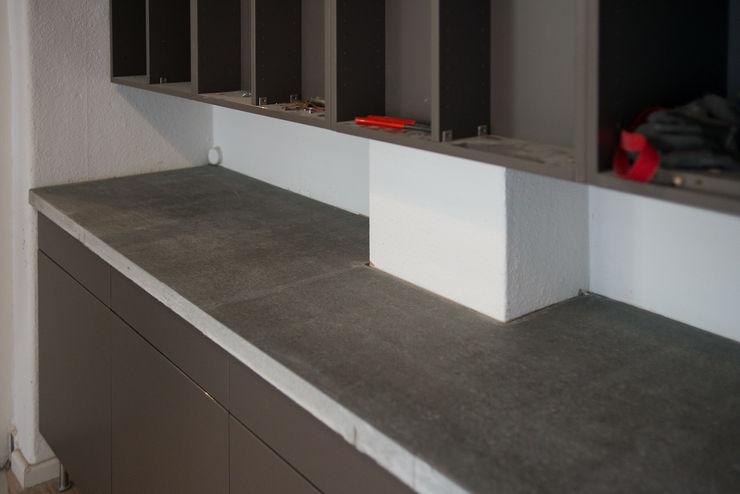 Accidental Concrete Sala de jantarBuffets e aparadores