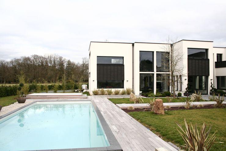 Piscine scp duchemin melocco architectes Piscine moderne