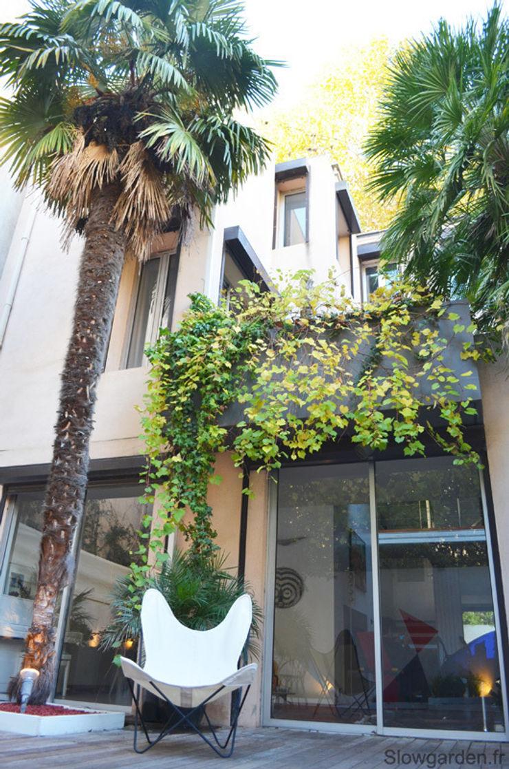 Slowgarden Moderne Häuser
