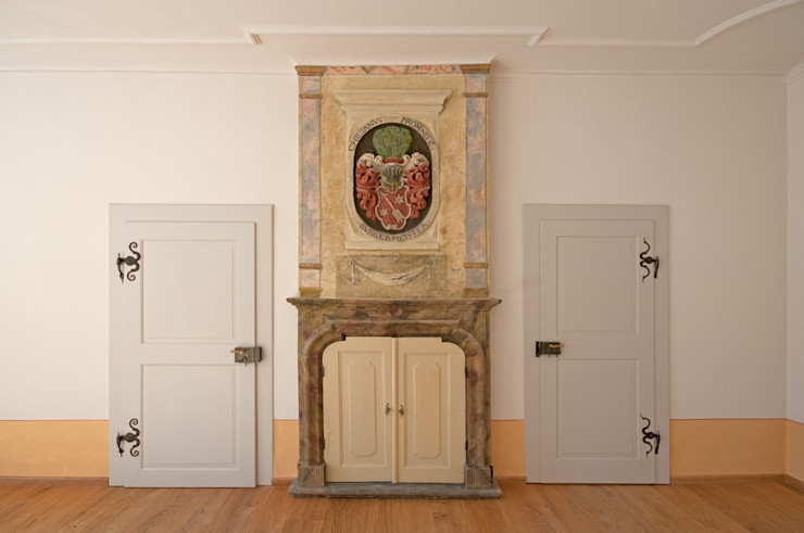 Seidel+Architekten Living roomFireplaces & accessories